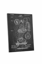 "Pingo World 0609QSXOD5M ""Bicycle Hentz 1899 Patent"" Gallery Wrapped Canv... - $58.36"