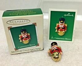 2003 Christmas Bells #9 Mini Hallmark Christmas Tree Ornament MIB w Pric... - $12.38