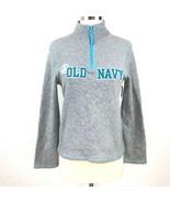 Old Navy Half Zip Gray Sweater Kids (14) Size XL - $17.63