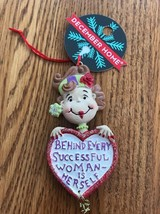 Behind Every Successful Woman Is Herself CHRISTMAS ORNAMENT Ships N 24h - $9.88