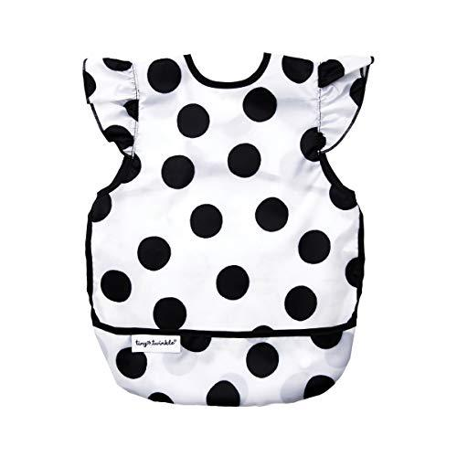 Tiny Twinkle Mess-Proof Apron Bib - Baby and Toddler Bib - Sleeveless Smock, Wat