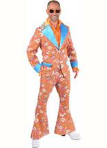 Deluxe  Pimp Suit - Orange Paisley , XS - XXL - $46.82+
