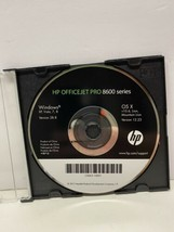 HP OFFICEJET PRO 8600 Series Software for Windows and macOS Setup CD ROM - $9.89