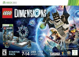 BNIB LEGO Dimensions Starter Pack for XBOX 360 - # 71173 - $24.00