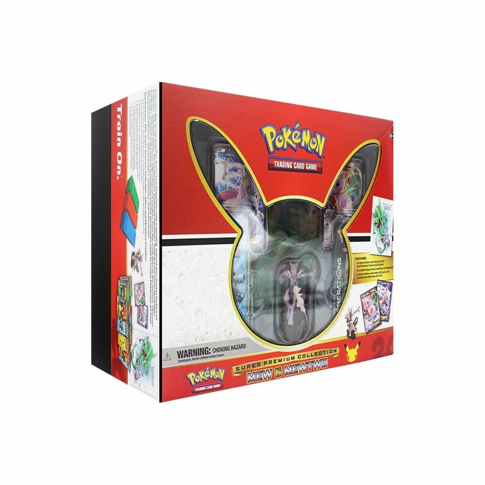 Pokemon Shining Legends Ho-Oh + Mew Mewtwo Super Premium Collection Boxes Bundle image 5