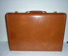 Vintage Samsonite Streamlite Shwayder Bros Hard Shell Suitcase - $33.85