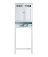 Bathroom Space Saver Shelf Storage Organizer Toilet Rack Over Shelves Ca... - $149.97