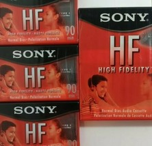 5 Sony HF 90 Normal Bias Audio Cassette (New & Sealed) - $14.84