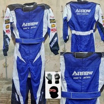 Arrow Kart Race Suit-CIK-FIA-Level-2-with-free-gift-Gloves-and-balaclava - $160.99