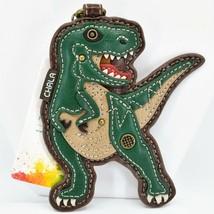 Chala Handbags Faux Leather Tyrannosaurus Rex T-Rex Dinosaur Coin Purse Keychain image 1