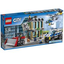 LEGO City Police Bulldozer Break-In Helicopter Creator Kids Toy Building... - $62.99