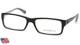 Emporio Armani Ea 3003 5055 Black Eyeglasses Frame 54-17-140 B32 (Display Model) - $113.84