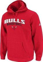 NBA Men's Chicago Bulls Playbook Hood II (Red, XX-Large)