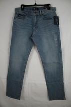 GAP DENIM Men's Straight Cotton Gap Flex Blue Jeans size 33 x 32 New - $29.69