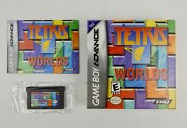 Tetris Worlds Nintendo Game Boy Advance 2001 CIB Complete Box is So MINTY - $25.16