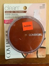 (1) Cover Girl Clean Natural Beige 140 Normal Skin Pressed Powder Compac... - $14.95