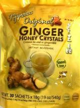 1/2/4 Bags, Prince of Peace Original Ginger Honey Crystals 19 Oz/540g 30 Sachets - $15.83+