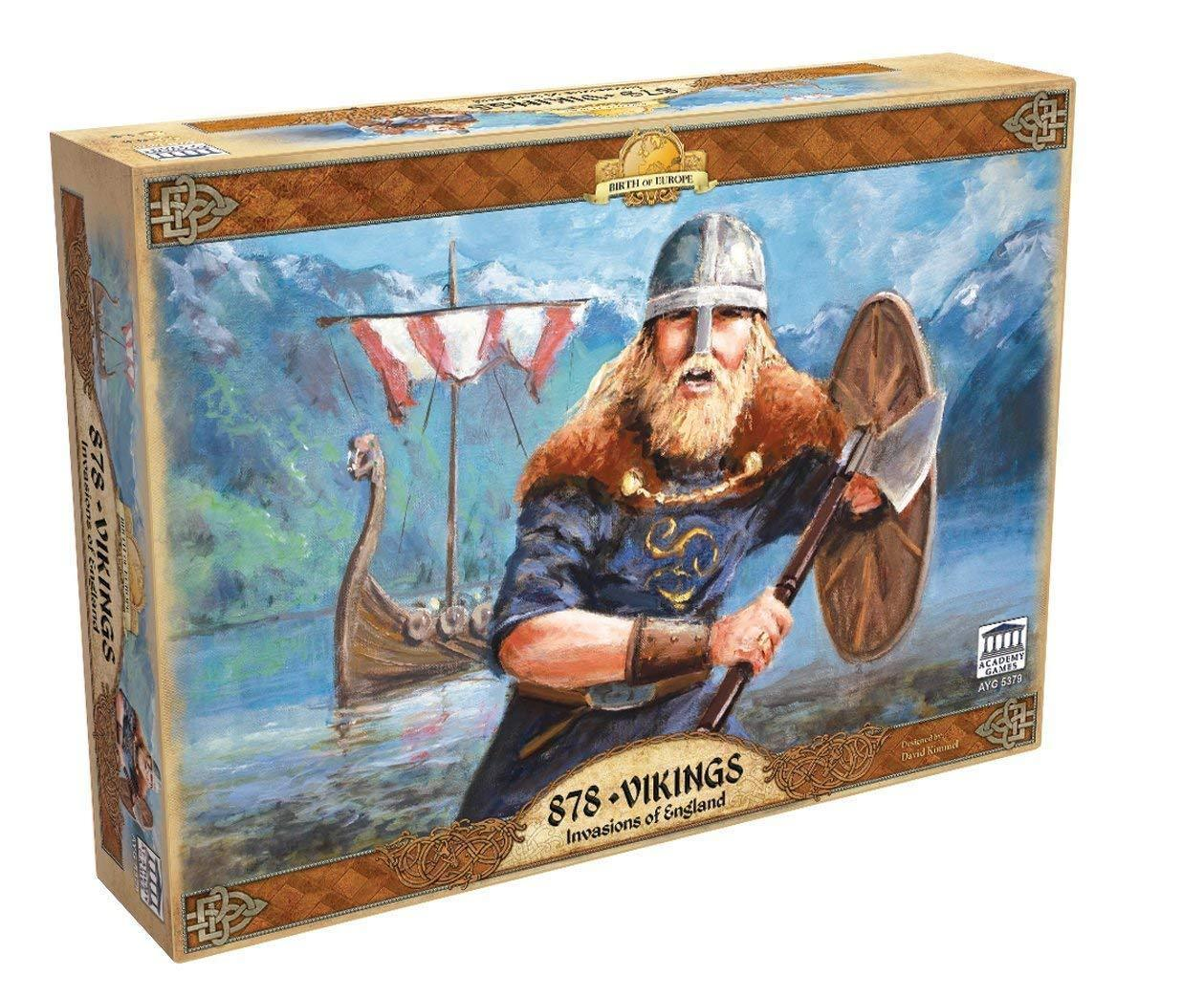 Academy Games 878 Vikings Invasions of England Board Game [New]