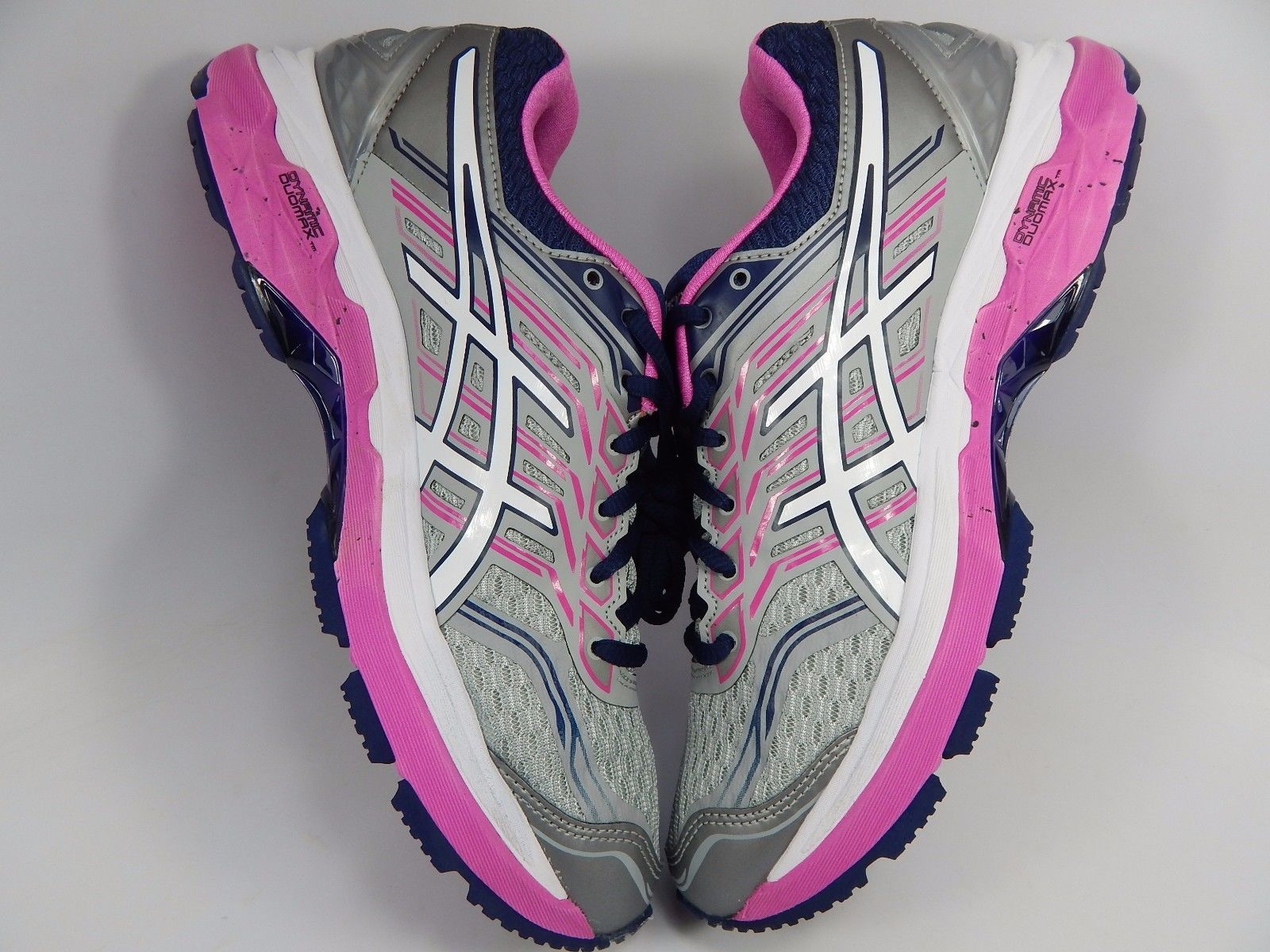 Asics GT 2000 v 5 Women's Running Shoes Sz US 8.5 2A NARROW EU 40 Silver T760N