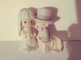 Precious Moments 522945 1991 Our First Christmas Together Ornament by Enesco - $27.99