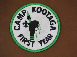 Boy Scouts of America Camp Kootaga First Year Patch New - $4.95