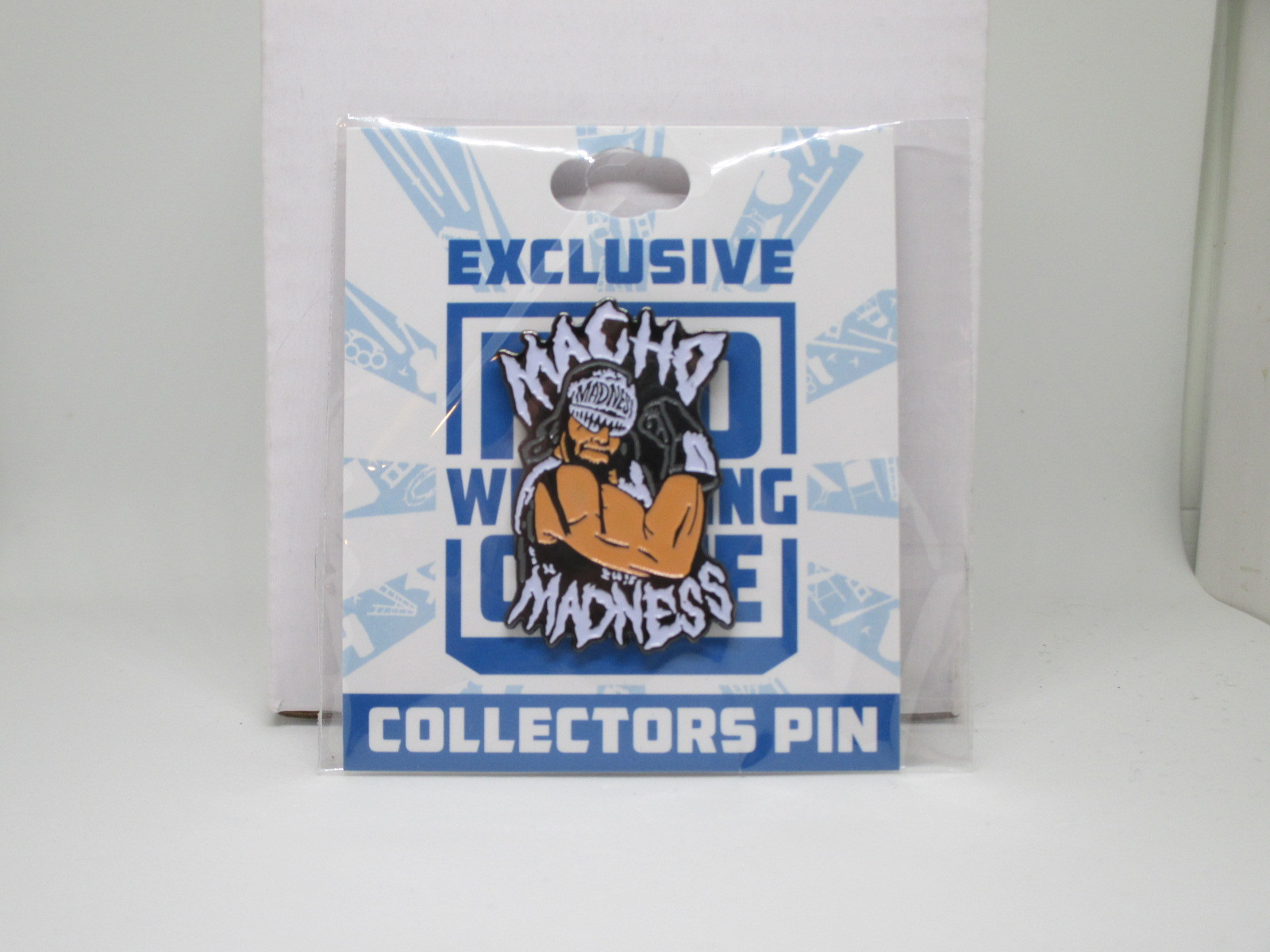 Primary image for Macho Man Randy Savage Collectors Pin Pro Wrestling Crate WWE AEW