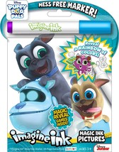 NEW 24pg Disney Puppy Dog Pals Imagine Ink Magic Pictures Activity Book - $5.99