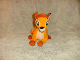 """Disney Plush Bambi Deer 7"""" Lgth Cute - $6.82"""