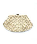 Vintage Harrods Purse Handmade Beads Kiss Clasp Handbag - $165.42