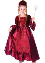 Burgundy Belle Ball Gown Child Costume Set - $39.60