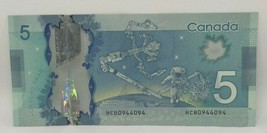 Canadian 2013 Repeater Note Frontiers issue Serial # HCB0944094 - $14.50