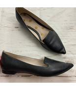 Boden Pointed toe Black Pebbled Loafer Women's 8 - $40.00