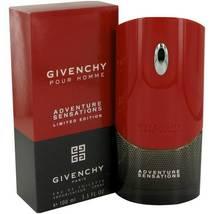 Givenchy Adventure Sensations 3.3 Oz Eau De Toilette Spray image 6