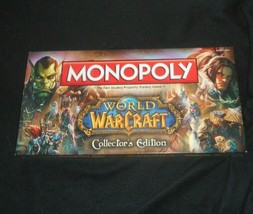 MONOPOLY COLLECTORS EDITION WORLD OF WARCRAFT BOARD GAME MISSING 1 GOLD ... - $31.09