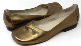 Anne Klein Women's Gold Leather Slip-on Loafer Size 6.5M - $23.08
