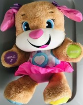 Laugh & Learn Sis Fisher Price Pink Dog Learning Smart Stages Interactiv... - $9.89