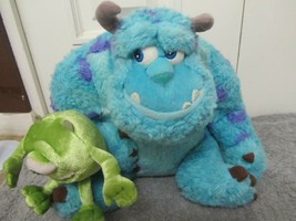 "Disney Pixar Monsters Inc Sulley With Mike Plush Friends 12"" Disney Store - $11.00"