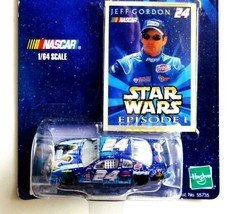 NEW Star Wars Episode 1 Winner's Circle NASCAR #24 Jeff Gordon 1:64 Diec... - $8.33