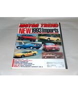 Motor Trend November 1992 Car Truck Vehicle Magazine New 1993 Imports - $9.29