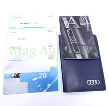 97 Audi A4 Quattro Sedan Owner Manual Operator Supplements OEM 1997 W/ Case - $15.84