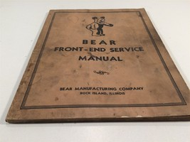 Vintage 1947 Bear Front-End Service Manual Rock island, IL - $39.99