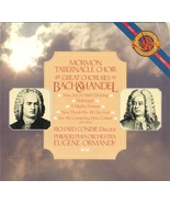 Mormon Tabernacle Choir The Great Choruses of Bach And Handel Double LP - $7.50