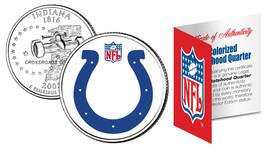 INDIANAPOLIS COLTS NFL Indiana U.S. Statehood Quarter U.S. Coin *Licensed* - $8.86