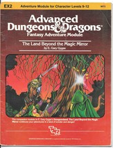 EX2 The Land Beyond The Magic Mirror Dungeons & Dragons Ad&D Tsr 9073 - 1 Module - $22.72