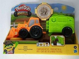 Play Doh Wheels Tractor with Horse Trailer Unisex Kids Farm Play Toy Hasbro New - $28.00