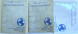 2001 Ford F-650 750 Service Repair Manual OEM Factory Dealership Worksho... - $6.95