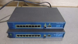 lot of 2 OEM cisco systems catalyst 2940 series  model WS-C2940-8FT-S - $120.44