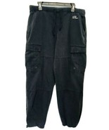 Abercrombie and Fitch Mens Gray Drawstring Waist Military Cargo Pants Si... - $23.33