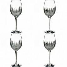 Waterford Lismore Diamond Goblet 4 Goblets Glasses New # 40002014 - $294.53