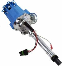 Pro Series R2R Tach Drive Distributor Corvette SBC BBC 327 350 396 427 454 Blue image 7
